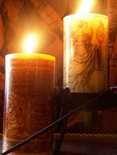 MoonaLisa's ™ House of Wax Pillar Candles, Supernatural, Wax, House, Home, Occult, Homes, Candles, Laundry