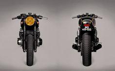 Kawasaki Zephyr 750 Cafe Racer by Ton-Up Garage. Una base con mucho potencial. Entra y descubre cómo transformar esta moto y hacer toda una joya.