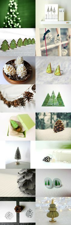 Trees!  by Lily on Etsy--Pinned with TreasuryPin.com