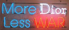 Dior or war ? #Dior by Alejandro Diaz