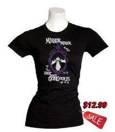 "Elvira ""Mirror, Mirror On The Wall"" Women's T-Shirt"