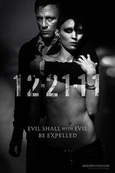 Daniel Craig and Rooney Mara appearing on the first poster for the American film.