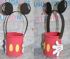 Foamy Mickey Party Favor Bag Inspiration *No instructions available