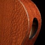 Lacewood Crossover Guitar, side soundport, lichty guitars
