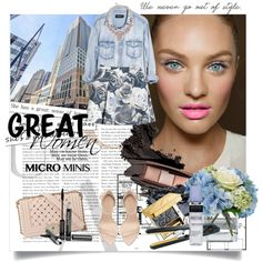 Designer Clothes, Shoes & Bags for Women Great Women, Hourglass, Polyvore Outfits, Bobbi Brown, Minis, Going Out, Zara, Ice, Cosmetics