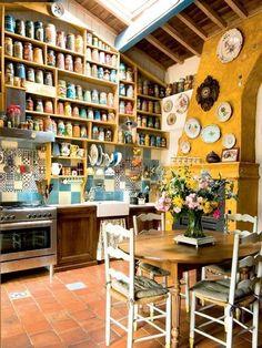 Arredamento in stile provenzale per la casa - Cucina stile pronvenzale
