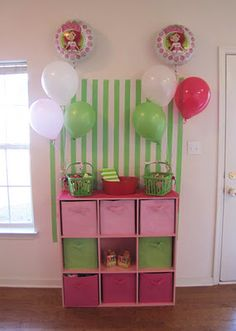 I had a strawberry shortcake table and chair set, although it was a ...