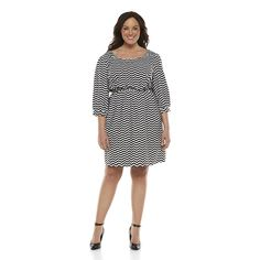 Juniors' Plus Size Stevie & Lindsay Dress