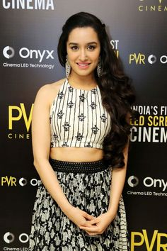Actress Shradha Kapoor at the Launch of the First LED Screen Cinema Onyx in New Delhi Indian Bollywood, Bollywood Stars, Bollywood Fashion, Bollywood Heroine, Beautiful Bollywood Actress, Most Beautiful Indian Actress, Prettiest Actresses, Beautiful Actresses, Indian Celebrities