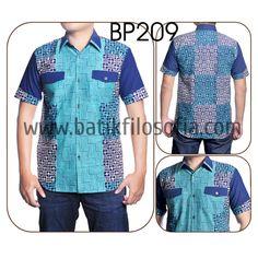 Kemeja Batik Cap Kombinasi katun dengan Kode BP209, merupakan batik cap yang terbuat dari bahan katun dan dikombinasikan dengan bahan katun. Harga untuk kemeja batik kode 209 ini adalah Rp.250.000 African Shirts For Men, African Men, Fashion Capsule, Business Fashion, Capsule Wardrobe, Shirt Style, Wax, Lisa, Men Casual