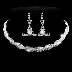 Cheap necklace fashion jewelry, Buy Quality jewelry gothic directly from China necklace and earring sets for bridesmaids Suppliers:                   New Czech Rhinestone Crystal Forehead Bridal Hair Accessories Floral Waterdrop Headband  Wedding Brida