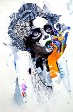 minjae lee. Lady painting