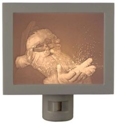 A great addition to your holiday decor! – Night Light Lithophane
