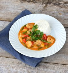 Red curry scampigryte - lindastuhaug