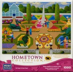 Hometown Collection: Flower Festival - 1000 Piece Jigsaw Puzzle - by Heronim by in Toys & Hobbies, Puzzles, Contemporary Puzzles | eBay