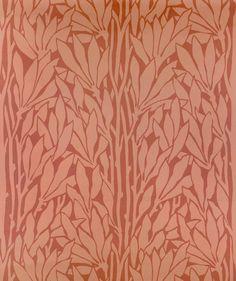 jugendstil art nouveau wall paper