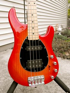 """My 2009 EBMM Sterling HS, one of my """"go to"""" basses."""