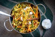 """Cauliflower """"rice"""" biryani recipe"""
