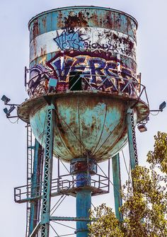 Abandoned Water Tower - Rusted | Flickr - Photo Sharing!