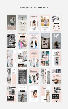 Vanilla - 25 PSD Instagram Stories  - Create outstanding Instagram Stories with this modern and stylish collection of PSD designs. You will not need to hire a professional in order to deliver a strong message through social media. Now, with these 25 PSD Instagram Stories, you can do it yourself in just a few minutes. By MinimalStudioCo $10 #affiliatelink