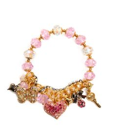 Pave Heart bracelet - $55.00 at betseyjohnson.com