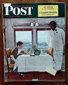 The Saturday Evening Post - December 7, 1946 Norman Rockwell Cover