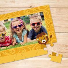 www.leukverjaardagsfeestje.nl Geef een gepersonaliseerde puzzel als cadeau. Samen op de foto met je vriendjes of vriendinnetje. Een #cadeautje wat hij of zij nooit meer zal vergeten.