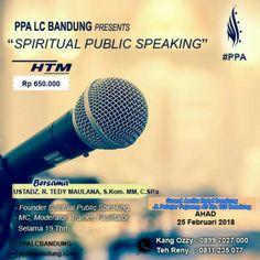 Training Spiritual Public Speaking (SPS)