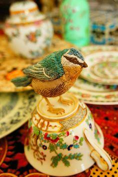 Bird Tea Party - Catherine Frere-Smith