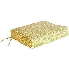 Outdoor Pattern Deep Seating Bottom Cushion, Multiple Patterns