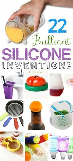 22 Totally Brilliant Silicone Inventions-- I need to order some of these! | Listotic.com