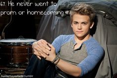 Omg!! That makes me love him even more!! And now gives me a reason to why I can not go to either! Haha