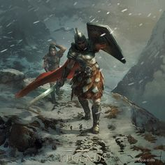 Snowhawk Detachment is a creature card in The Elder Scrolls: Legends that is a part of the Heroes of Skyrim expansion. Elder Scrolls Skyrim, The Elder Scrolls, Elder Scrolls Online, Fantasy Adventurer, Fantasy Warrior, Final Fantasy, Dark Souls, Imperial Legion, Character Art