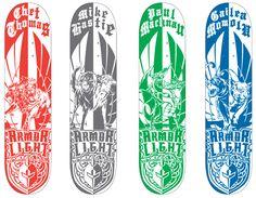 Tavis Coburn - Two Headed Monsters for Darkstar Skateboards