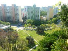 Bratislava, 2-garzónka, ul.Gessayova 39 - pohľad z balkóna vpravo.