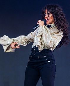 Camila perfoming at #Festivaleteqc #FEQ #NeverBeTheSame