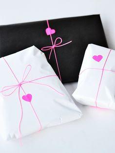 Regalos manuales de amor: 20 envoltorios molones para regalos