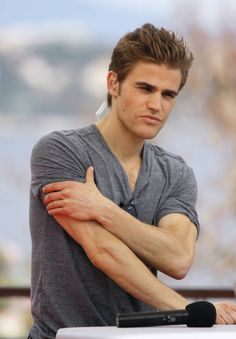 handsome actors | Handsome American actor Paul Wesley picture (80)__I am a hot guy, or a ...