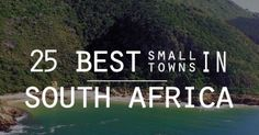 Sometimes you find yourself in the middle of nowhere. And sometimes, in the middle of nowhere, you find yourself. Here are, in alphabetical order, the 25 best small towns in South Africa. Holiday Places, Holiday Destinations, Travel Info, Travel Stuff, Travel Ideas, Joy Of Life, Africa Travel, Small Towns, Wonders Of The World