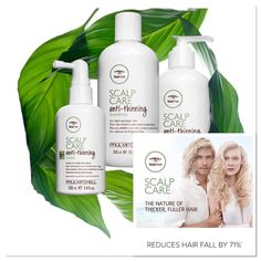 Tea Tree scalp care range, reduces hair loss up to 71%. #loveyourscalp #teatree #paulmitchell