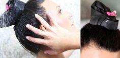 Só sujou a raiz do cabelo? Acessório permite lavar só essa parte dos fios
