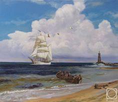 Panow Eduard.  latarnia morska