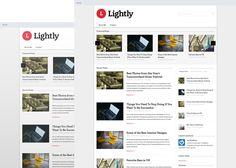 Lightly - Responsive Blog Magazine Theme: A minimal theme designed with content in mind, Lightly offers a clean and modern feel. Share your latest news and rest assured your work will be at the forefront. #fancythemes