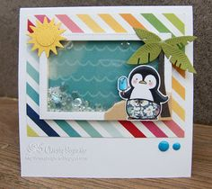 Christy Designs: Summer Holiday Pinguin