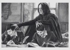 I CAN'T TELL YOU HOW MUCH I LOVE THIS >>>I can so picture them being Hogwarts students, oh goodness...