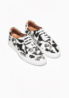 & Other Stories | Painterly Leather Sneakers