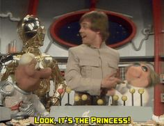 Muppets and Star Wars Xover