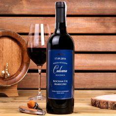 Personalizowane Czerwone Wino CUDOWNA