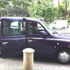 Purple taxi cab!!!!!