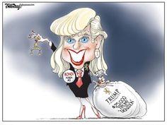 Editorial Cartoon: Bondi Trump